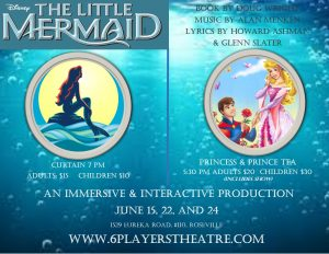 The Little Mermaid @ 6 Players Theater | | |
