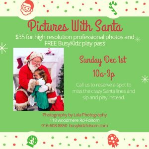Photos With Santa @ BusyKidz Play Town and Coffee Shop | | |