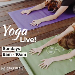 Yoga Live! (Virtual) @ Old Sacramento Waterfront- Virtual |  |  |